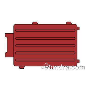 RUBFG4510L5RED - Rubbermaid - 4510-L5 - TradeMaster® Cart Red Small Back Panel Product Image
