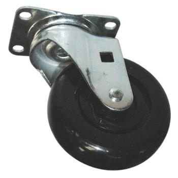 RUBFG4608L30000 - Rubbermaid - 4608-L3 - 4 in Cube/Spring Platform Truck Swivel Caster Product Image
