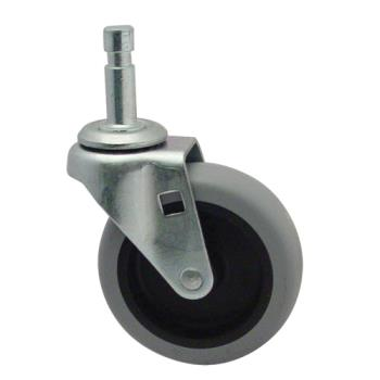 35136 - Rubbermaid - 6111-L3 - 3 in Cleaning Cart Caster with Insert Product Image
