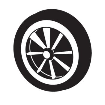 RUBFG9T13L30000 - Rubbermaid - 9T13-L3 - 10 in Wheel Product Image