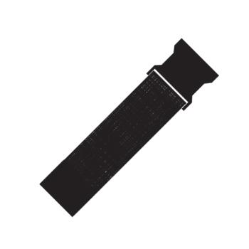 RUBFG9T28L4BLA - Rubbermaid - 9T28-L4 - 2 in (W) x 10 ft (L) Black Safety Strap Product Image