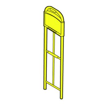 RUBFG9T50L1YEL - Rubbermaid - 9T50-L1 - Standard UpRight - Yellow Product Image