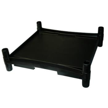 RUBFG9T73L3BLA - Rubbermaid - 9T73-L3 - Black Middle Shelf Product Image
