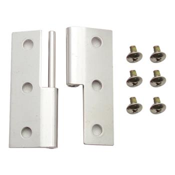 66470 - Carlisle - IC2250HA38 - Cateraide™ Chrome Hinge Assembly Product Image