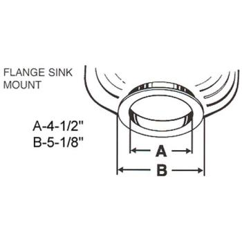 761021 - InSinkErator - 11599E - Mounting Adapter Product Image