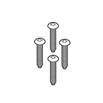 RUBFG9C75L40000 - Rubbermaid - 9C75-L4 - Bucket Attachment Screws Product Image