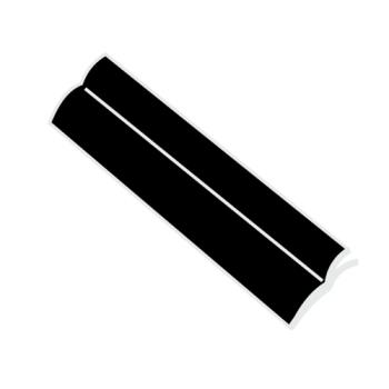 RUBFG9M00L3BLA - Rubbermaid - 9M00-L3 - Lobby Pro Black Replacement Blade Product Image