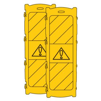 RUBFG9S11L2YEL - Rubbermaid - 9S11-L2 - Yellow Middle Panel Product Image
