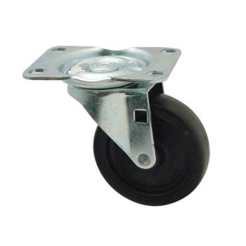 35137 - Rubbermaid - 3600-L4 - 3 in Trimeld® Ingredient Bin Swivel Plate Caster Product Image