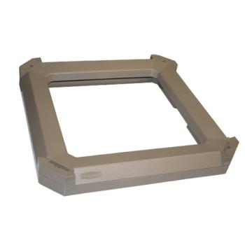 35149 - Rubbermaid - 3975-L3 - Landmark Series® Driftwood Container Stationary/Moving Collar Product Image