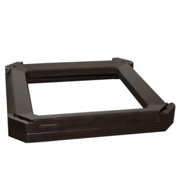 35150 - Rubbermaid - 3975-L3 - Landmark Series® Sable Container Stationary/Moving Collar Product Image