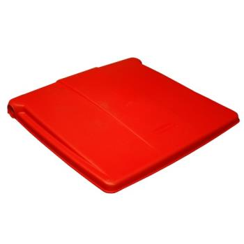 RUBFG6143L2RED - Rubbermaid - 6143-L2 - Red Lid Product Image