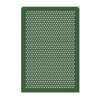 RUBFG9W51L1DGRN - Rubbermaid - 9W51-L1 - 50 Gallon Square Perforated Replacement - Green Product Image