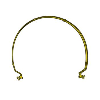 RUBFG9W87L1YEL - Rubbermaid - 9W87-L1 - Brute Rim Yellow Caddy Bag Strap Product Image