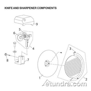 - Globe - Globe C Series Knife & Sharpener Component Parts Product Image