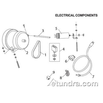 - Globe - Globe C Series Slicer Electrical Parts Product Image
