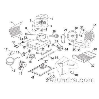 - Globe GC9 Slicer Parts Product Image