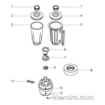- Hamilton Beach 918 - 919 Blender Parts Product Image