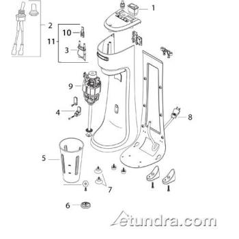 - HMD200 - Hamilton Beach HMD200 Drink Mixer Parts Product Image