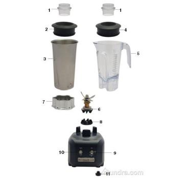 - Hamilton Beach Rio™ Blender Parts Product Image