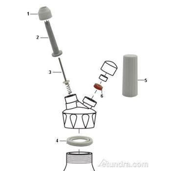 - Kayser Whipped Cream Dispenser Parts Product Image