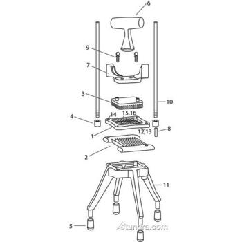 - Nemco Easy Chopper II Parts Product Image