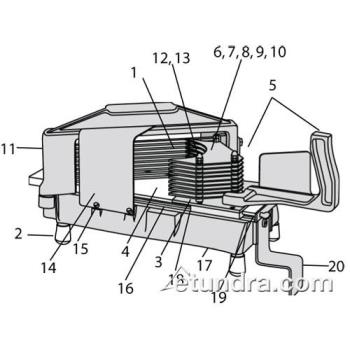 - Nemco Easy Tomato Slicer™ Parts Product Image