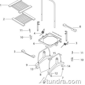 - Silver King Lettuce Cutter Parts Product Image
