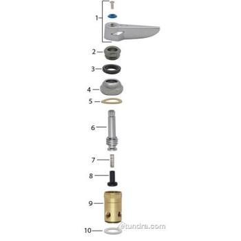 - T&S Pre Rinse Stem Parts Product Image