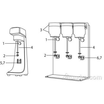 - Waring Drink Mixer Parts Product Image