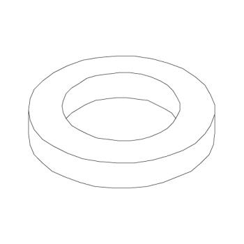 ROB101033 - Robot Coupe - 101033 - Center Bottom Cushion Bushing Product Image