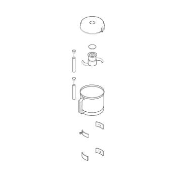 ROB27031 - Robot Coupe - 27031 - Bowl Kit Product Image