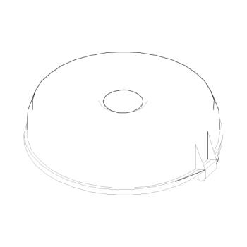 68616 - Robot Coupe - 28611 - Bowl Lid Product Image
