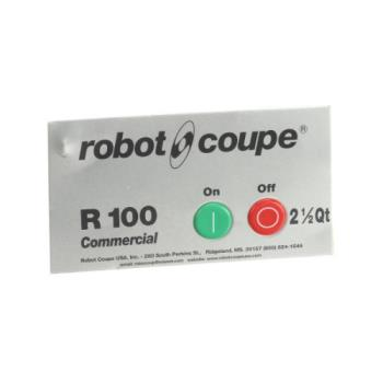 ROB29208 - Robot Coupe - 29208 - On/Off Switch Assembly w/ Data Plate Product Image