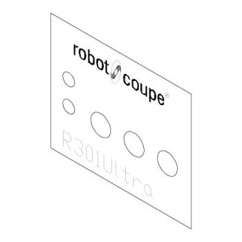 ROB400177 - Robot Coupe - 400177 - Data Plate Product Image