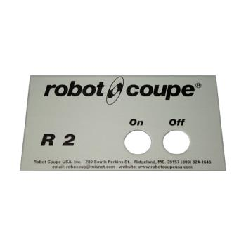 ROB400538 - Robot Coupe - 400538 - Front Data Plate Product Image
