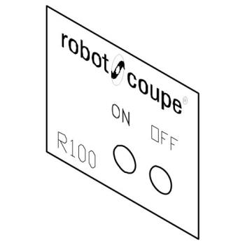 ROB400541 - Robot Coupe - 400541 - Data Plate Product Image
