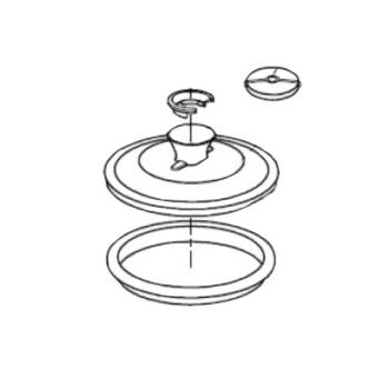 ROB59288 - Robot Coupe - 59275 - LID ASSY R30T Product Image