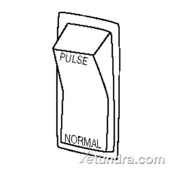 WAR014199 - Waring - 014199 - Normal/Pulse Rocker Switch Product Image