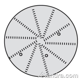 "WAR032280 - Waring - 032280 - 5/64"" Fine Grating Disc Product Image"
