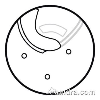 "WAR032524 - Waring - 032524 - 1/4"" Slicing Disc  Product Image"