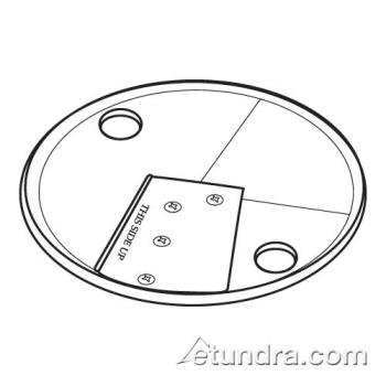 "WAR502927 - Waring - 502927 - 3/8"" Slicing Plate Assembly   Product Image"