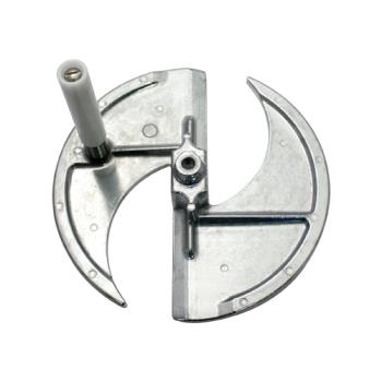 NEM552678 - Nemco - 55267-8N - 1/4 in Cut Fixed Plate and Handle Assembly Product Image