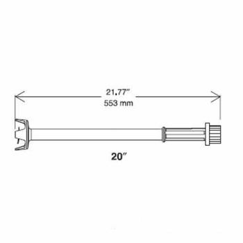 "DIT653576 - Electrolux-Dito - 653576 - 20"" Cutter Tube Attachment Product Image"