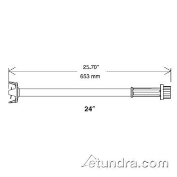"DIT653577 - Electrolux-Dito - 653577 - 24"" Cutter Tube Attachment Product Image"