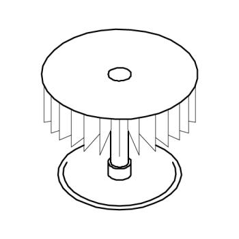 ROB102940 - Robot Coupe - 102940 - Fan Blade Product Image