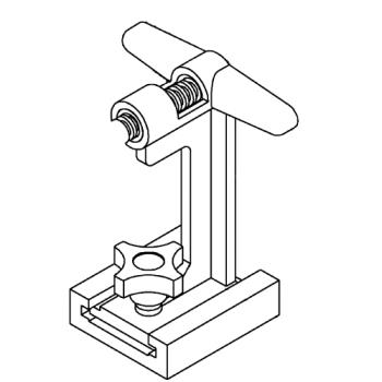NEM55010A - Nemco - 55010A-1 - Support Stand and Bridge Assembly Product Image