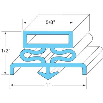 741126 - Original Parts - 741126 - 12 5/8 in X 21 1/4 in Door Gasket Product Image