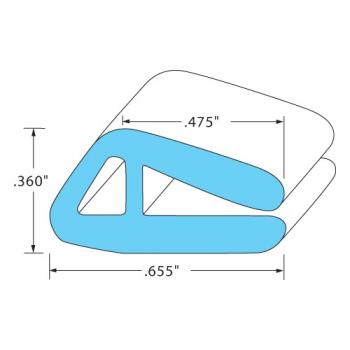 8009291 - Original Parts - 8009291 - Door Gasket Product Image