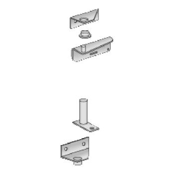 21439 - Commercial - Old Style Left Self-Closing Hinge Kit Product Image